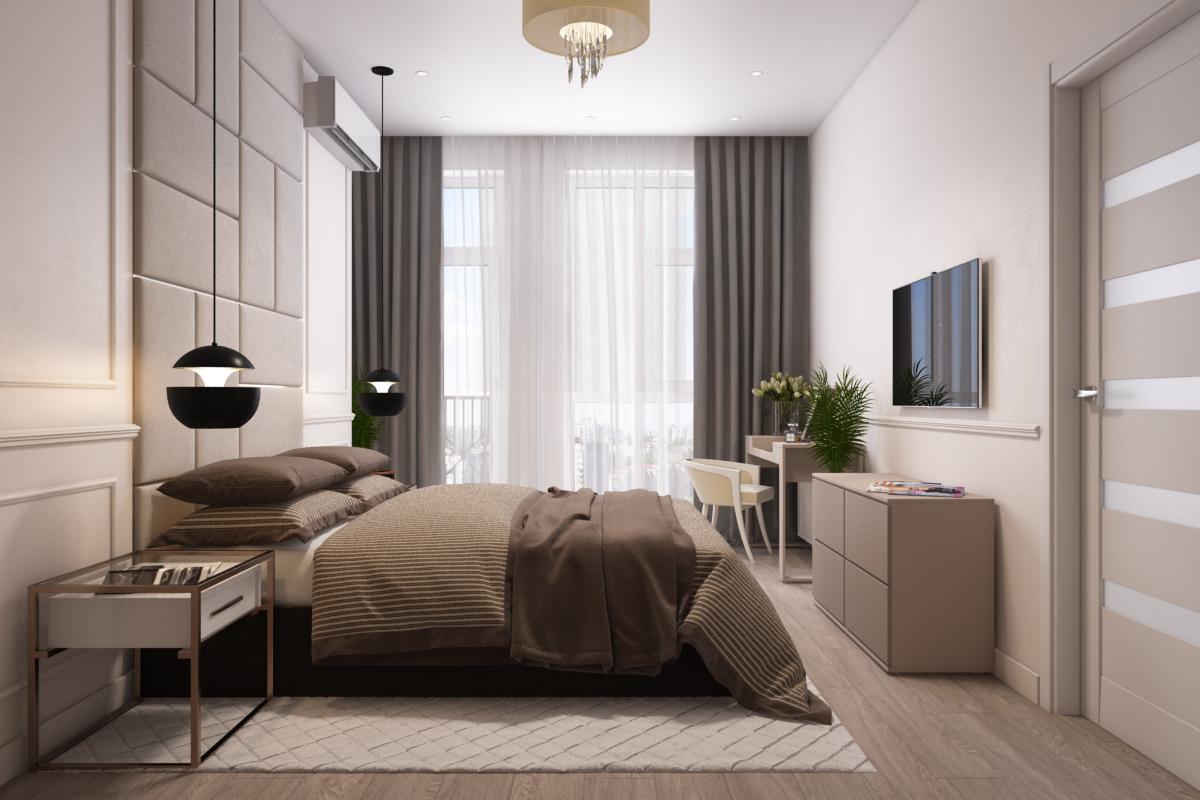 Дизайн-проект квартиры в современном стиле от дизайнера интерьеров в Киеве